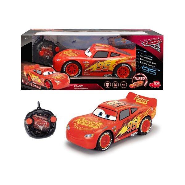Disney Cars 3 Hero Salama McQueen Radio-ohjattava Auto 1:12