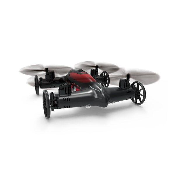 Syma X9 Flycar Radio-ohjattava Quadrocopter ja Auto 2-in-1 Musta