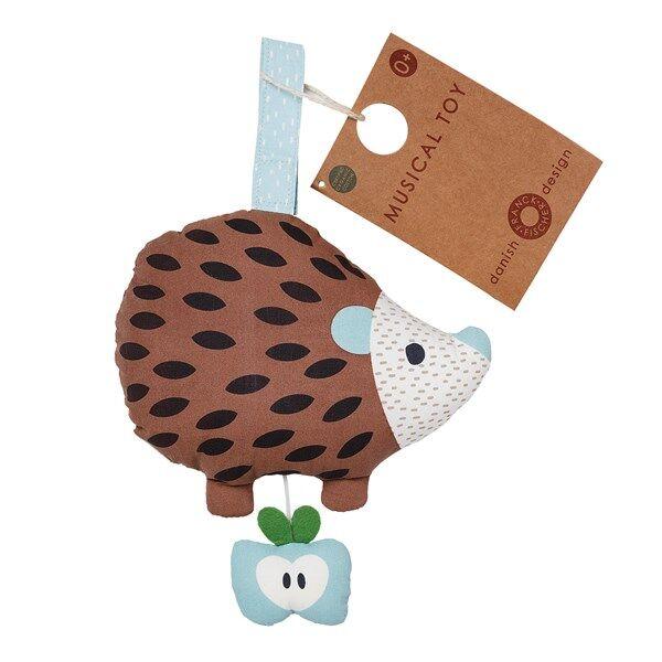 Else brown hedgehog musical toy, Franck & Fischer