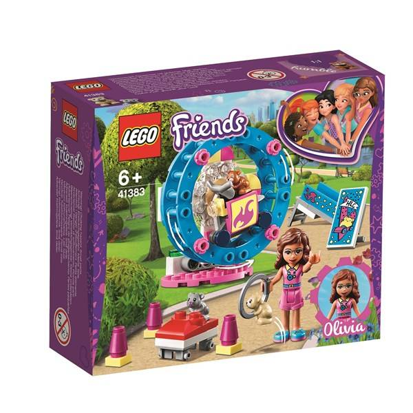 Lego Olivias hamsterlekplats-LEGO Friends