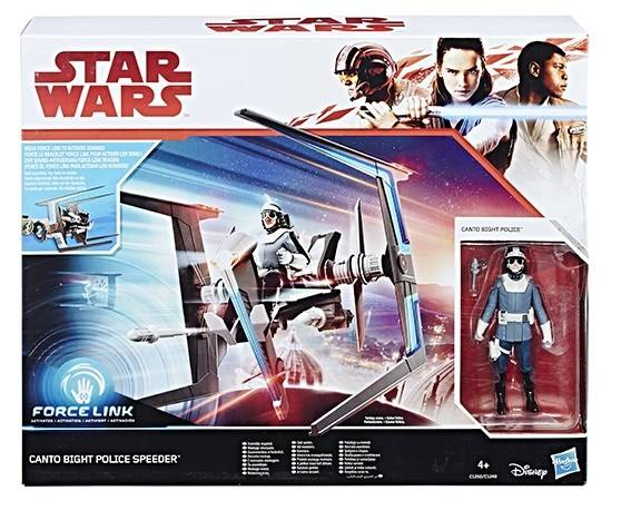 Image of Star Wars E8 Class B Vehicle Canto Bight Police speeder, Force Link