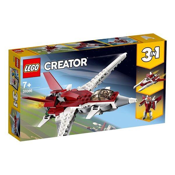 Lego Futuristiskt flygplan, LEGO Creator (31086)