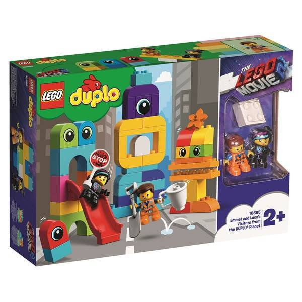 Lego Emmet och Lucys besökare från DUPLO planeten-LEGO DUPLO™