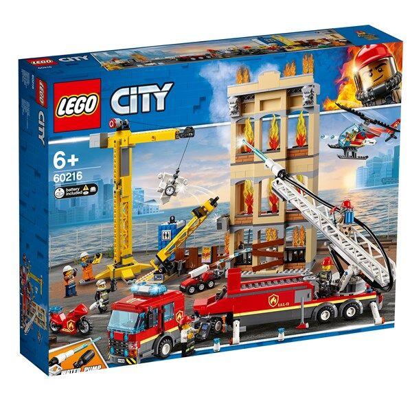 Centrum Brandkåren i centrum-LEGO City Fire