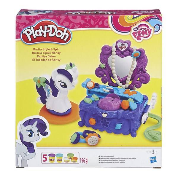 Play-Doh My Little Pony Rarity Style & Spin