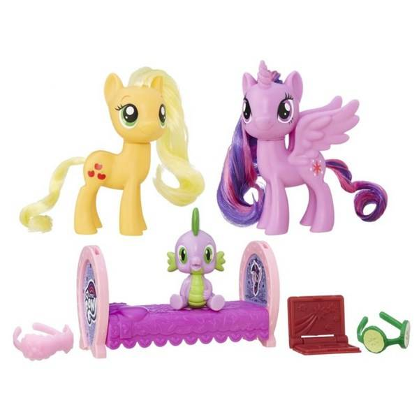 My little ponny, 2-pack, Twilight Sparkle & Applejack