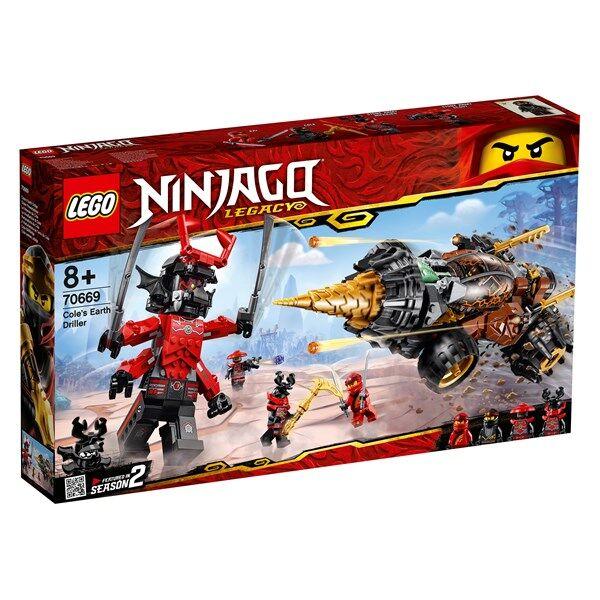 Lego Coles jordborr, LEGO NINJAGO (70669)