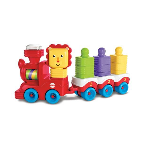 Fisher-Price Little Stackers Lion Locomotive, Fisher Price