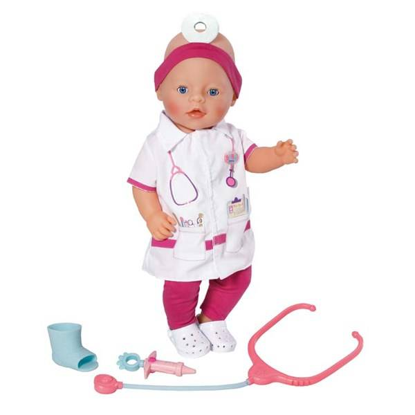 Baby Born Docktillbehör, Doktorset, Zapf Creation