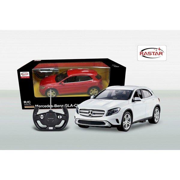 Radio-ohjattava Mercedes GL Valkoinen