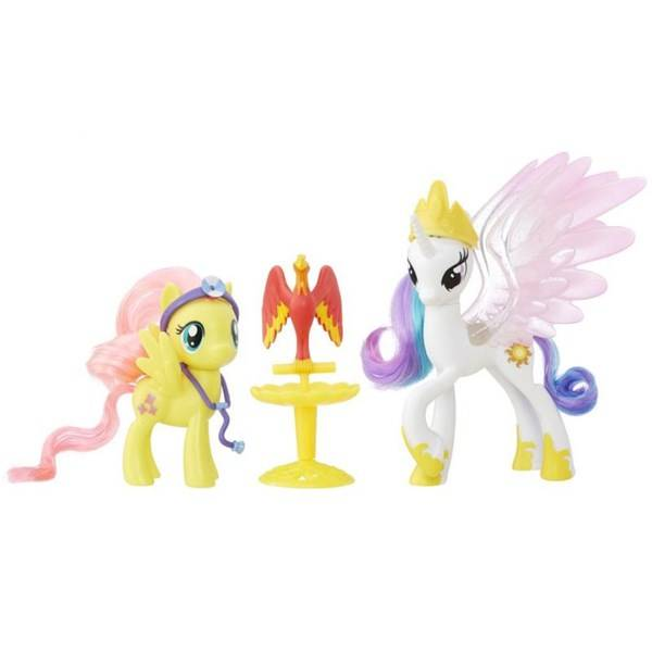 My little ponny, 2-pack, Princess Celestia & Fluttershy