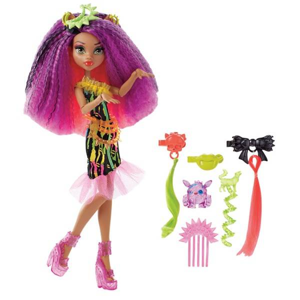 Clawdeen Wolf, Electrified Monstrous Hair Ghouls, Monster High