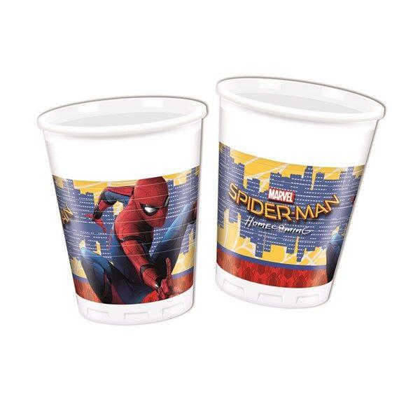 Spiderman Homecoming Muovimukit 8 kpl