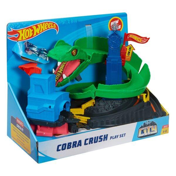 Cobra Crush Playset, Hot Wheels