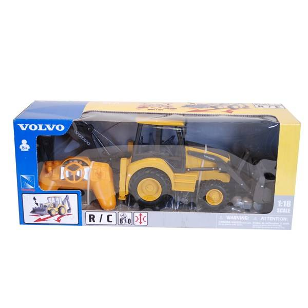 Radio-ohjattava Traktori Volvo Keltainen/Musta