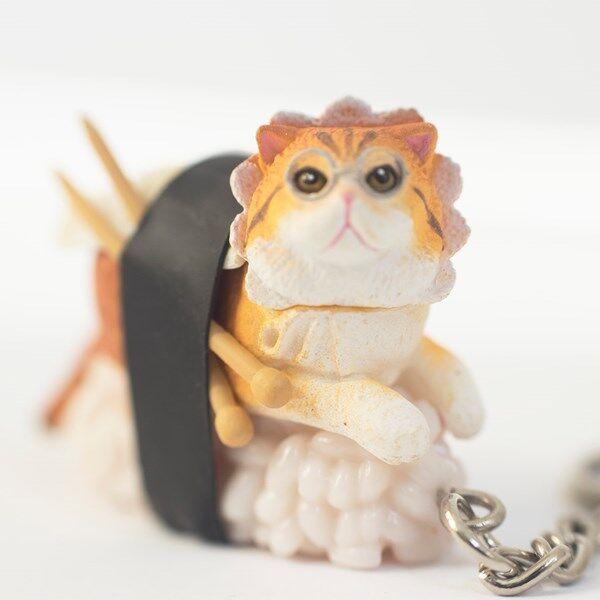 Sushi Cats Blind Box Avaimenperä