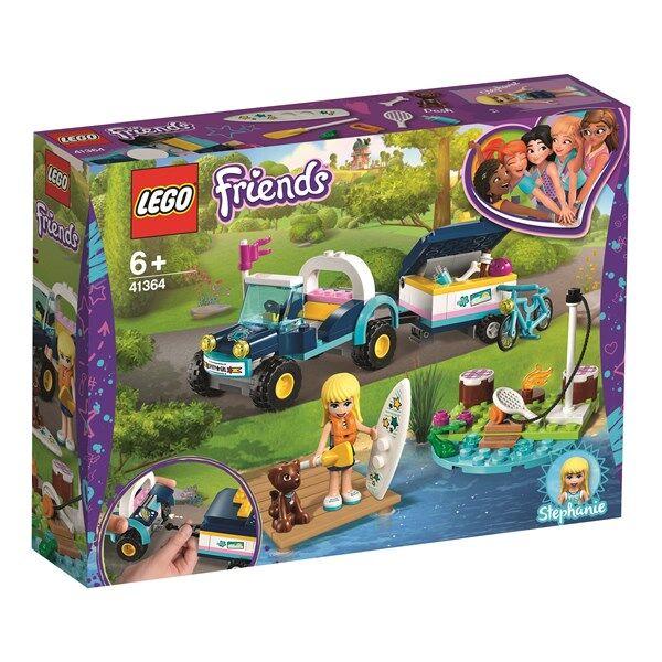 Lego Stephanies buggy med släp-LEGO Friends