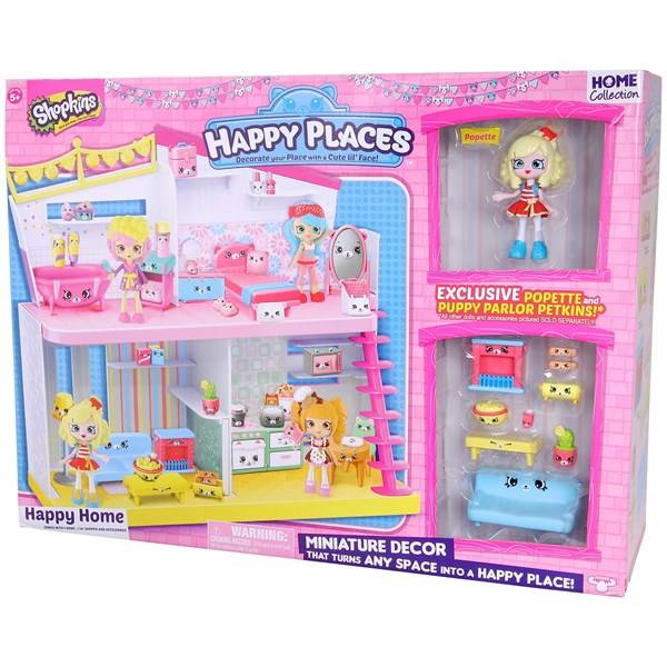 Shopkins Happy Places Happy Home Playset Nukkekoti