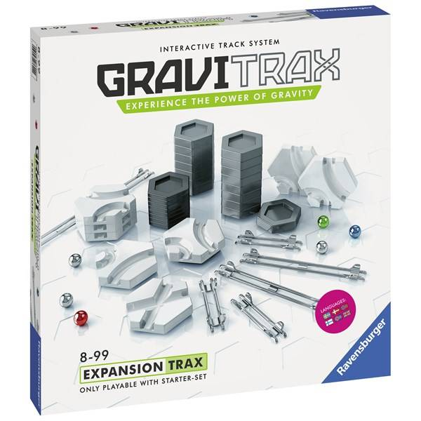 Trax GraviTrax Trax Ravensburger /SV/DA/FI/NO/EN