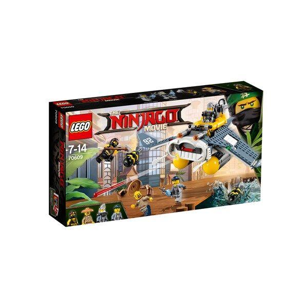 Lego Manta Ray -pommikone, LEGO Ninjago (70609)