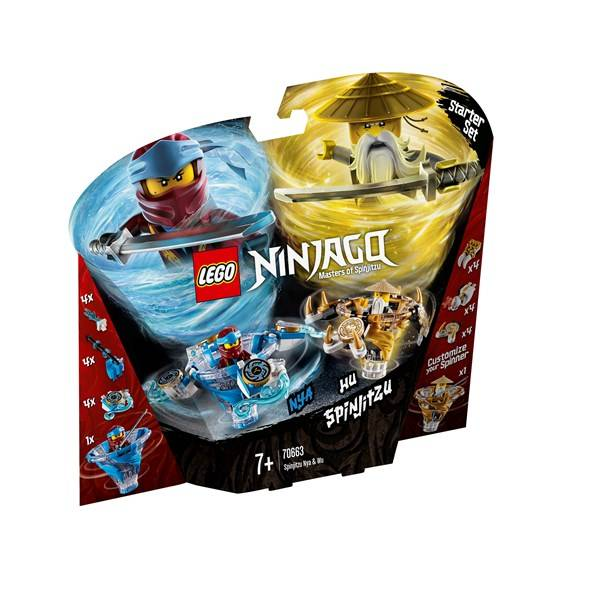 Lego Spinjitzu Nya & Wu, LEGO NINJAGO (70663)