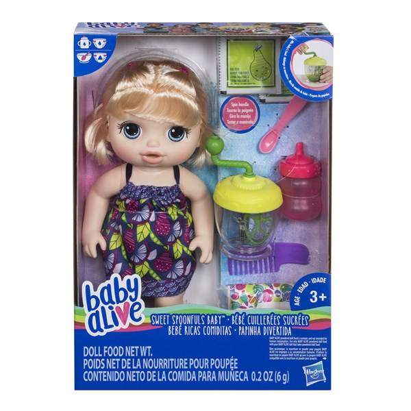 Sweet Spoonfuls Baby, Blonde, Baby Alive