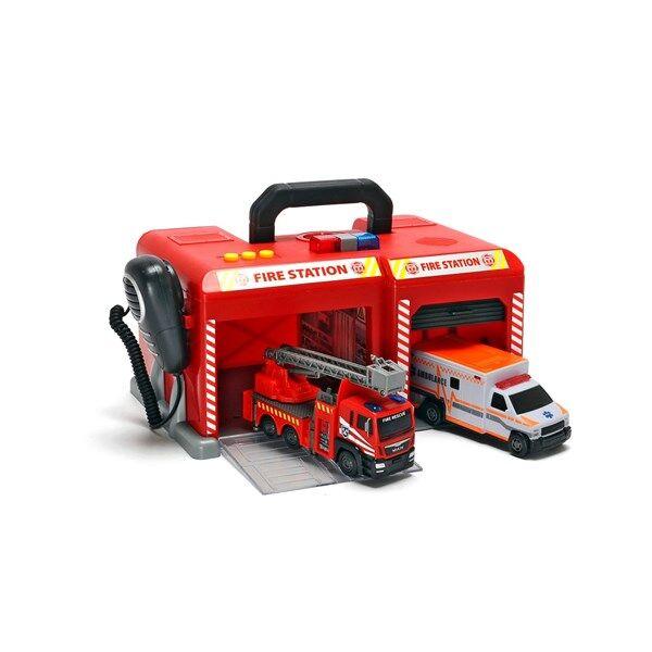 SOS International fire station, Dickie Toys