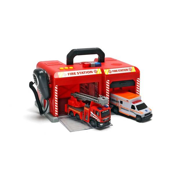 SOS International fire station, Dickie Toys