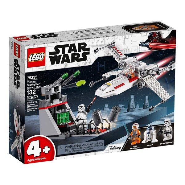 Lego X-Wing Starfighter Trench Run, LEGO Star Wars (75235)