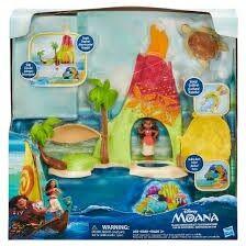 Island Adventure Set, Small doll, Disney Vaiana