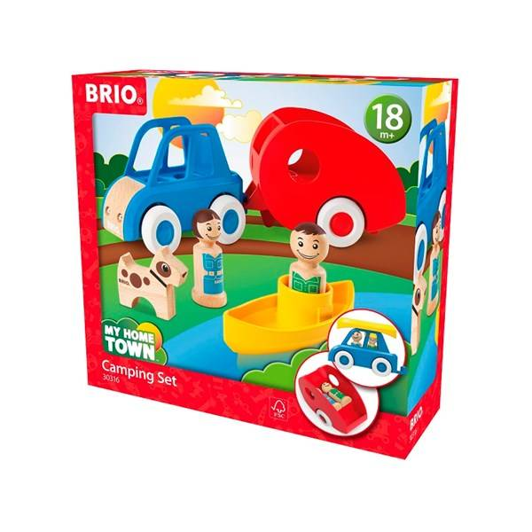 Brio My Home Town - 30316 Campingset