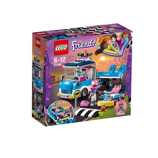 Lego Service- och underhållsbil, LEGO Friends (41348)