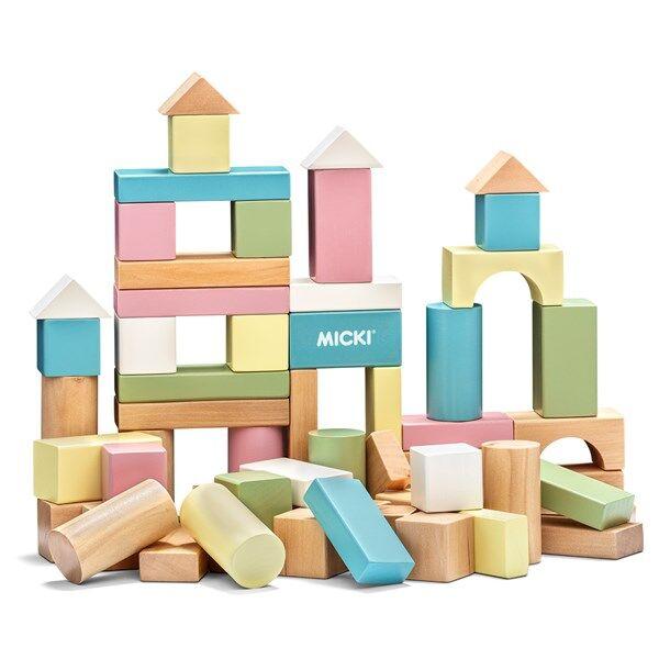 60 Rakennuspalikkaa, Pastilli, Micki