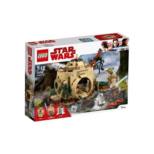Lego Yodan maja, Star Wars (75208)