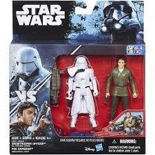Star Wars Rogue One Delux Figure 2 kpl Snowtrooper Officer & Poe Dameron