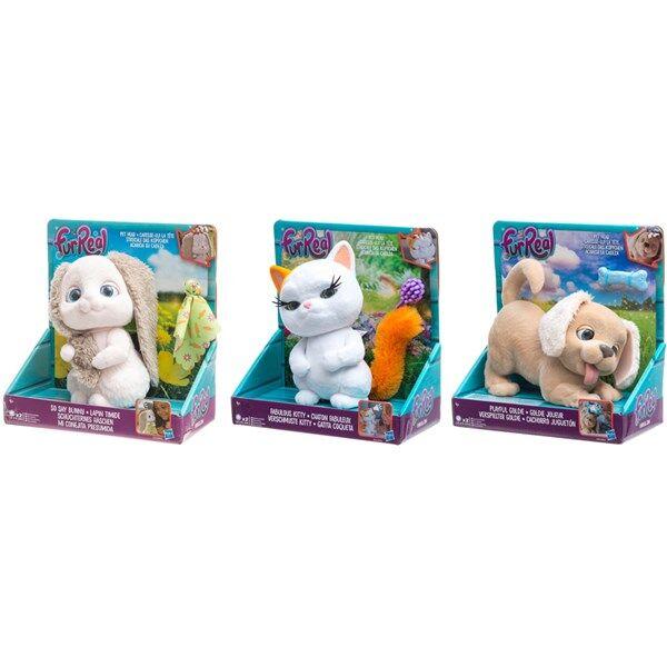 So shy bunny, Fuzz Pets, FurReal