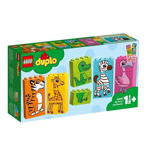 Lego Mitt första roliga pussel, LEGO DUPLO (10885)