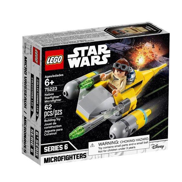 Lego Naboo Starfighter Microfighter, LEGO Star Wars (75223)
