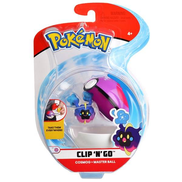 Pokémon Clip N Go, Cosmog & master ball