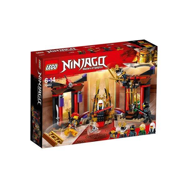 Lego Uppgörelse i tronsalen, LEGO Ninjago (70651)