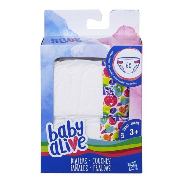 Diapers Refill, Baby Alive
