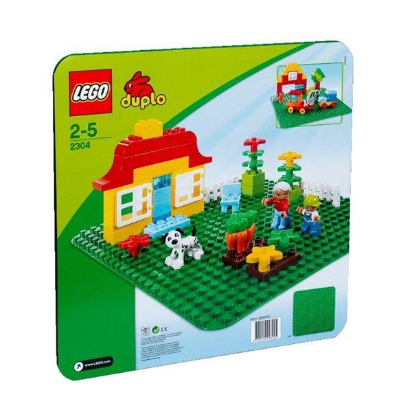 Lego DUPLO® Suuri vihreä rakennuslevy (2304)