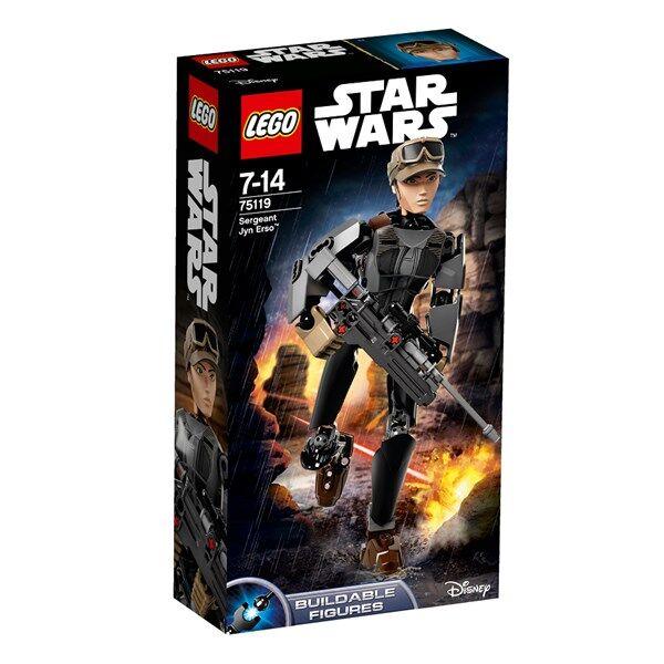 Lego Sergeant Jyn Erso, Lego Star Wars (75119)