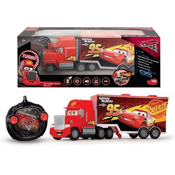 Disney Cars 3 Radio-ohjattava Auto RC Turbo Racer Make 1:24