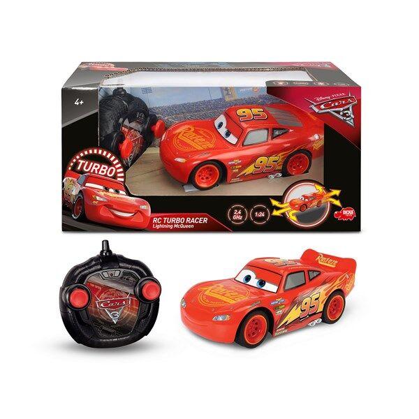 Disney Cars 3 Salama McQueen Radio-ohjattava Auto RC Turbo Racer 1:24
