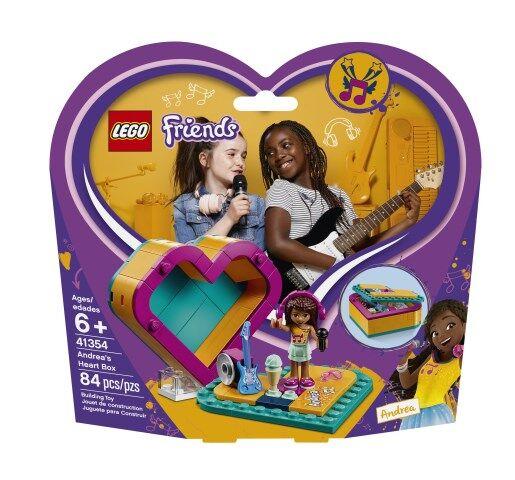 Lego Andreas hjärtask, LEGO Friends (41354)