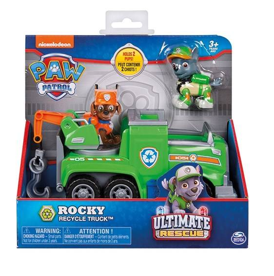 Ultimata Räddningsfordon, Rocky Recycle Truck, Paw Patrol