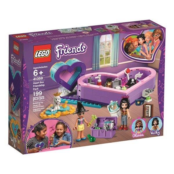 Lego Hjärtask – vänskapsset-LEGO Friends