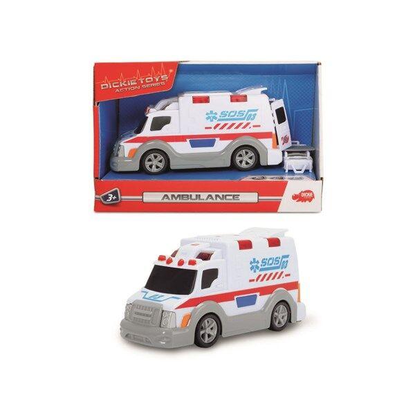 Dickie Toys Ambulanssi Ääni- ja Valotehosteilla 15 cm