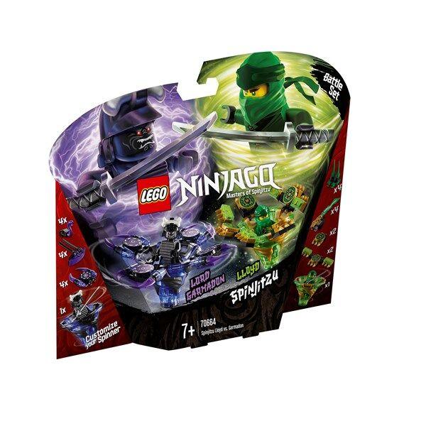 Lego Spinjitzu Lloyd vs. Garmadon, LEGO NINJAGO (70664)